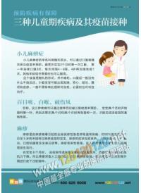 妇幼保健院标语 三种儿童棋疾病及其疫苗接种