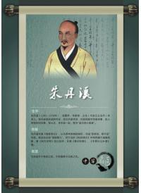 中医院文化墙 古代名医朱丹溪