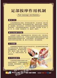 足疗按摩图 足疗按摩作用机制