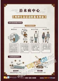 中医文化标语 中医标语 四件生命活动的基本特征