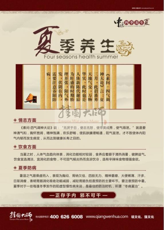 中医养生宣传标语_