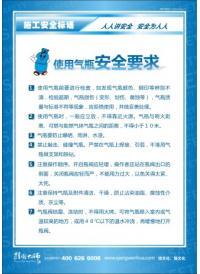 施工宣传标语 使用气瓶安全要求