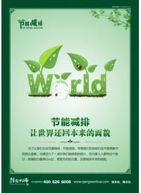 节能环保宣传标语,绿色节能标语