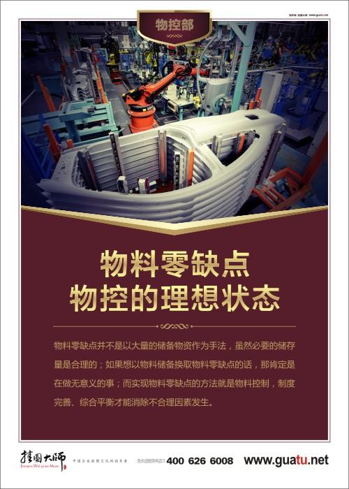 物料零缺点 物控的理想状态 企业物料管理