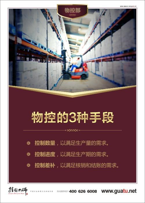 物控的3种手段 生产车间物料管理
