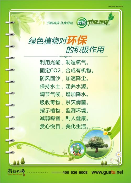 小学校园环保标语 宣传环保的图片 校园环保意识 树立环保