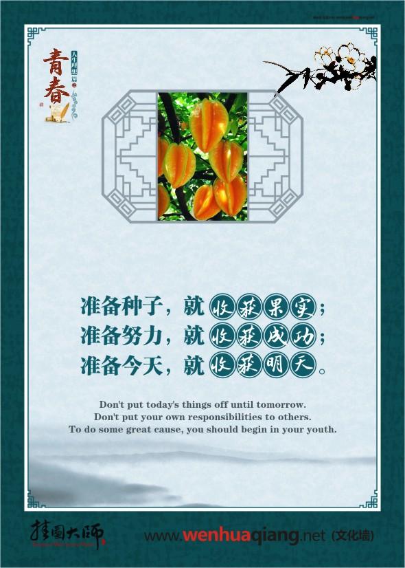 {2017赞美那段青春的励志名言名句}.
